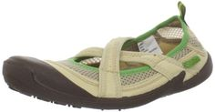 Cudas Women's Shasta Water Shoe,Natural,6 M US Breathable waterflow mesh and stretch neoprene upper. X-band styled watershoe. Toe and heel bumper for extra protection. Grip outersole is anti-slip and non-marking. Back pull tab for easy on/off.  #Cudas #Shoes