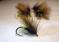 Egg-laying caddis on a Partridge Dry Fly Supreme (L5A) - by Gareth Lewis on Facebook group Partridge Hook Forum
