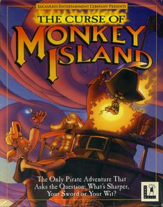 Monkey Island - so clever, so funny, a great series.