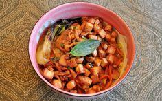 Day 24: Ramen with Fennel Stock and Thai Basil (w/#recipe)   #veganpopup #vegan #food #dinner #ramen