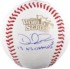 c5b16dba59d David Ross Chicago Cubs Fanatics Authentic 2016 MLB World Series Champions  Autographed 2016 World Series Logo Baseball with G-PA Inscription