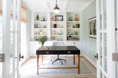 One Room Challenge: My Home Office - simply organized