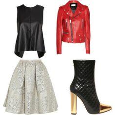 My 1st Set! My Style, Polyvore, Image, Fashion, Moda, Fashion Styles, Fashion Illustrations