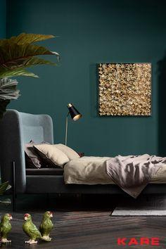 Living Room Partition Design, Room Partition Designs, Living Room Decor, Bedroom Decor, Living Room Color Schemes, Green Rooms, Kare Design, Room Colors, Room Inspiration