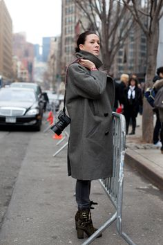 http://www.thesartorialist.com/.  What cool boots!  Sadly not sure I could pull them off, but I'm admirin'