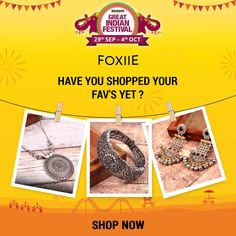 India's Biggest Sale is Live! Have you shopped your fav's yet ? Jewellery Sale, Jewelry Stores, Amazon Sale, Indian Festivals, Shop Now, Live, Shopping