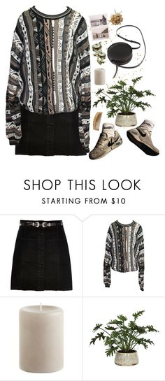 """""""Abstract"""" by lsaroskyl ❤ liked on Polyvore featuring River Island, COOGI, Pier 1 Imports, Lux-Art Silks and Sara Barner"""