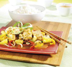 Chrupiąca ryba z ananasem i warzywami. Kuchnia Lidla - Lidl Polska. #lidl #azja #vitasia