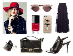 """""""[Black&Red for Spring] 2016 BRYAN YANG'S PERFECT MATCHING 196"""" by bryan-yang ❤ liked on Polyvore featuring Alexander Wang, Salvatore Ferragamo, Christian Dior, Casetify, Chloé and Chanel"""