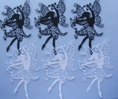 LACY HEATHER FAIRY DIE CUTS
