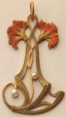 if-you-could-read-my-crazy-mind:    Vever pendant Paris, art nouveau c.1900
