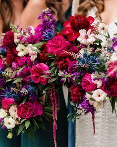 Jewel Tone Wedding, Floral Wedding, Wedding Colors, Wedding Flowers, Perfect Wedding, Our Wedding, Dream Wedding, Wedding Ideas, Wedding Flower Arrangements