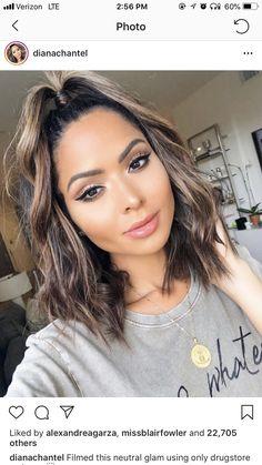 Ombre Hair Color For Brunettes, Hair Color Balayage, Hair Highlights, Bad Hair, Hair Day, Summer Hairstyles, Pretty Hairstyles, Aveda Hair, Light Hair