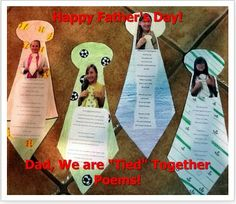 Fun Father's Day Poem Activity!