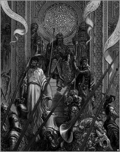 Illustrations to Orlando Furioso / Gustave Doré Gustave Dore, Illustrations, Illustration Art, University Of Adelaide, Dantes Inferno, Scratchboard, Medieval Knight, Art Thou, Wood Engraving