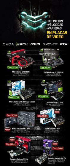 gvinformatica.com.ar #Olivos_VL  #PlacasDeVideo #EVGA #XFX #ASUS #Sapphire #MSI #Intel #AMD #NVIDIA #GeForce #Radeon  @gvinformaticaAR