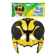 Insect Lore - Bug Hedz Yellow Hornet on sale now! Bee Toys, Hornet, Yellow Things, Bugs, Insects, Games, Costumes, Activities, Amazon