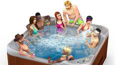 Los Sims - ¡A la bañera de hidromasaje! La semana que viene llega Los Sims 4 Patio de Ensueño Pack de Accesorios - Sitio oficial