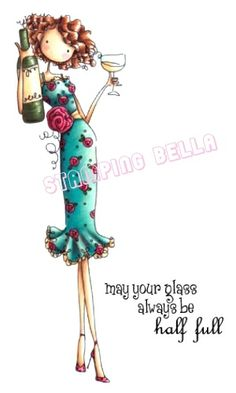 Stamping Bella - uptown girl opal the optimist