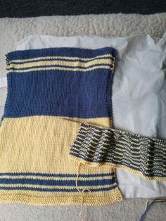 eb398d49431 De 7 bedste billeder fra Mine klude | Knit stitches, Knitting ...