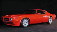 1974 PONTIAC FIREBIRD TRANS AM G-HAWKPRO-TOURING COUPEFull Max-G Systems chassis pack built with 4130n aircraft Chromoly TKO-600 5-speed manual 455cid Pontiac big block motor was rebuilt and modified by Pat Musi. Leather interior.