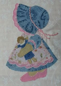 Sunbonnet Sue and Her Dolly