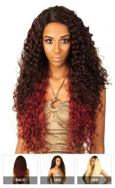 Isis Red Carpet Lace Front Wig RCP289 SUPER JACKY - Afrostyling