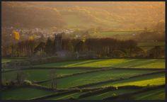 The village of Walkhampton, on the western edge of Dartmoor