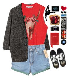 """Don't leave me hangin..."" by iesie ❤ liked on Polyvore featuring Étoile Isabel Marant, Wildfox, Vans, Olympus, Aspinal of London, ArteHouse and WALL"