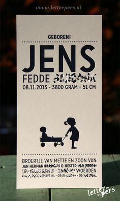 letterpers_letterpress_geboortekaartje_Jens_donker-blauw_zusje_lief-kaartje