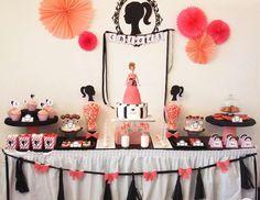 Chloé's 5 birthday - Barbie
