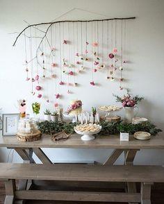 """2,543 Likes, 41 Comments - Blog Lápis de Noiva (@lapisdenoiva) on Instagram: """"Para noivinhas que amam o estilo boho, uma inspiração para chá de cozinha, chá bar ou até…"""""""