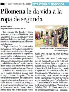 Articulo publicado por el Diario El Venezolano sobre Pilomena. Seguimos creciendo para servirles cada vez mejor! Reutiliza!