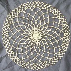 Trellis Doily pattern by Adrienne R. Congdon Mini Trellis Doily pattern by Adrienne R. Congdon - -Mini Trellis Doily pattern by Adrienne R. Mandala Au Crochet, Crochet Circles, Crochet Doily Patterns, Thread Crochet, Knitting Patterns, Dreamcatcher Crochet, Crochet Dollies, Crochet Snowflakes, Unique Crochet