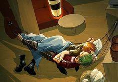 Sleeping/Zoro x Sanji/One piece Roronoa Zoro, Zoro Nami, Sanji One Piece, One Piece Ship, One Piece Images, One Piece Pictures, One Piece Fanart, 0ne Piece, Shounen Ai