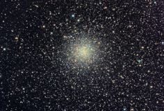 Messier 9 or M9 (also designated NGC 6333) is a globular cluster in the constellation of Ophiuchus. It was discovered by Charles Messier in 1764.    M9 is one of the nearer globular clusters to the center of the Milky Way Galaxy with a distance of around 5,500 light-years.