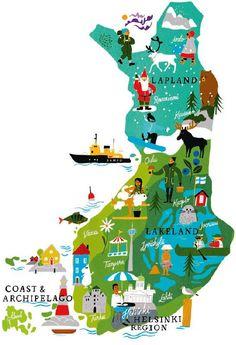 Finland Trip, Finland Travel, Lapland Finland, Finland Food, Finland Summer, Sweden Travel, Helsinki, Lappland, Travel Maps