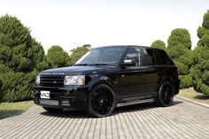 Auto Couture Range Rover Sport You & Enloe drive me crazy running around in this. Range Rover Black, Range Rover Sport, Forged Wheels, Mode Of Transport, Hot Rides, Train Car, Dream Garage, Future Car, My Ride