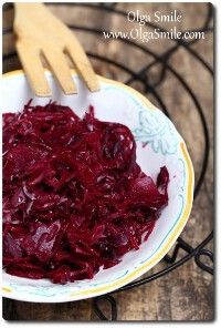 Kapusta kiszona czerwona Smoothies Vegan, Healthy Plate, Good Food, Yummy Food, Polish Recipes, Polish Food, Simply Recipes, Fermented Foods, Vegan Recipes