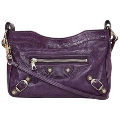 Balenciaga Purple Giant 12 Classic Hip Crossbody Bag 1