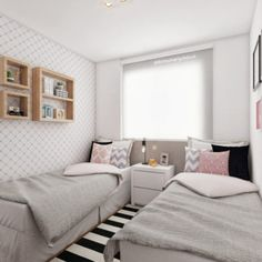 Best Diy Home Decor On A Budget Bedroom Small Spaces Ideas - Decoration Room Design Bedroom, Diy Home Decor Bedroom, Diy Home Decor On A Budget, Room Ideas Bedroom, Home Room Design, Small Room Bedroom, Girl Bedroom Designs, Bedroom Furniture, Small Bedroom Decor On A Budget