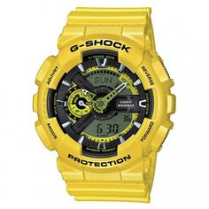 Casio G-Shock Yellow Analog Digital Dial Resin Quartz Male Watch This is a  brilliant new twist of the already popular series featuring a unique bold  ... 858984144c
