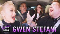Gwen Stefani Carpool Karaoke (w/ George Clooney & Julia Roberts) - YouTube