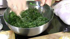 Kookoo Tareh 1.| how to cook Persian food | Chives