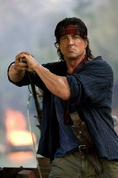 Rambo Sylvester Stallone almost gave up on the fifth film; Rambo 4, John Rambo, Sylvester Stallone Rambo, Bruce Willis, Action Movie Stars, Action Movies, Chuck Norris, Keanu Reeves, Silvestre Stallone