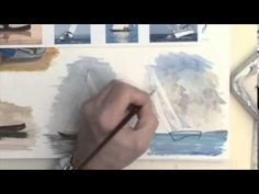 Acrylic Figures Lesson - Boats at Rest & Afloat - YouTube