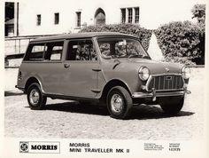 Morris Mini Traveller Mk II - 1967 Import Cars, Classic Cars, Van, Photograph, Travel, Photography, Viajes, Vintage Classic Cars, Photographs