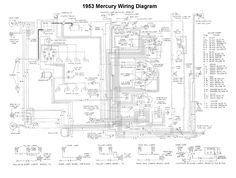 les 98 meilleures images du tableau wiring sur pinterest chevy LED Light Fixture Wiring Diagram wiring for 1953 mercury car
