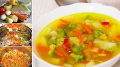 Consumand o supa sanatoasa de legume in mod regulat, veti fi capabila sa pierdeti aproape 5 kilograme intr-o saptamana. Nu... Cod Fish, Hungarian Recipes, Thai Red Curry, Salsa, Health Fitness, Nap, Mexican, Lunch, Healthy