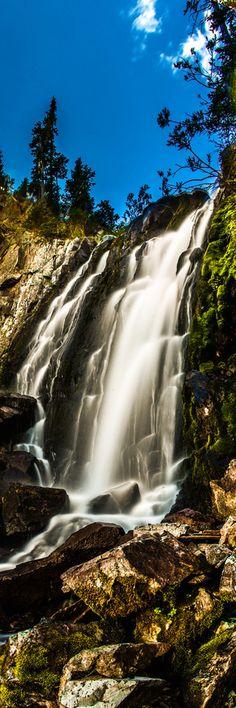 Waterfall on Pearl Pass near Aspen Colorado, Thomas OBrien Beautiful Waterfalls, Beautiful Landscapes, Natural Waterfalls, All Nature, Amazing Nature, Beautiful World, Beautiful Places, Beautiful Scenery, Beautiful Pictures